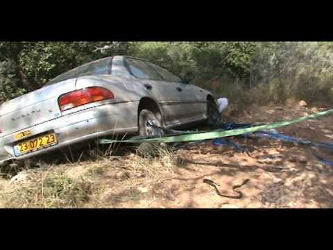 חילוץ רכב תקוע-חילוץ בבית אורן