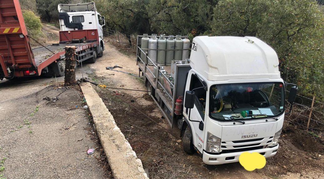 חילוץ משאיות